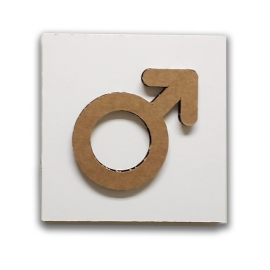 Female icon - Restroom sign or decoration sign