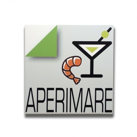 Aperimare - Italian sign for bar and pub