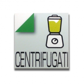 Centrifuged - Italian sign for bar and pub