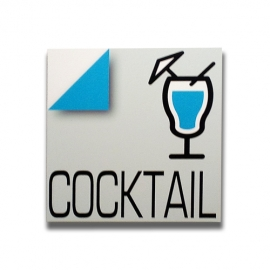 Cocktail - Sign for bar and pub