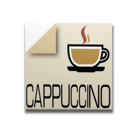 Cappuccino - Italian sign for bar and pub