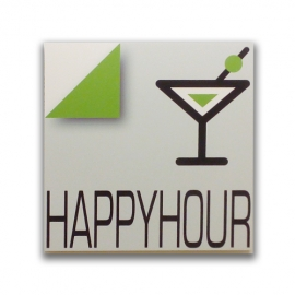 Happyhour - Sign for bar and pub