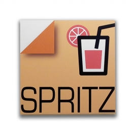 Spritz - Sign for bar and pub