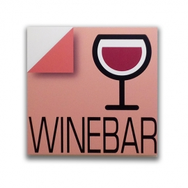 Winebar - Sign for bar and pub