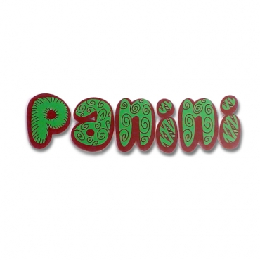 Panini - Sandwitches - 3D letters italian sign
