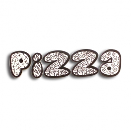 Pizza - 3D letters sign