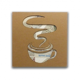 Coffee - Cardboard sign