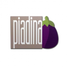 Piadina - Wood effect sign